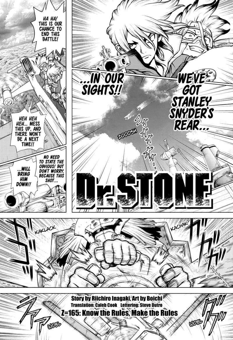 Dr. Stone : Chapter 165 - Know the Rules, Make the Rules image 001