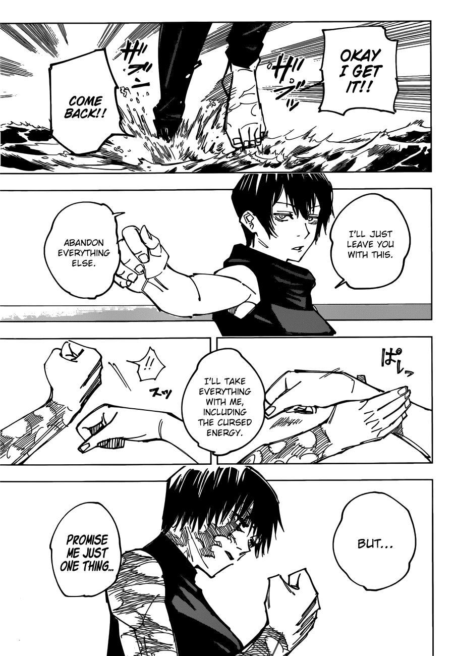 Jujutsu Kaisen, Chapter 149 image 012