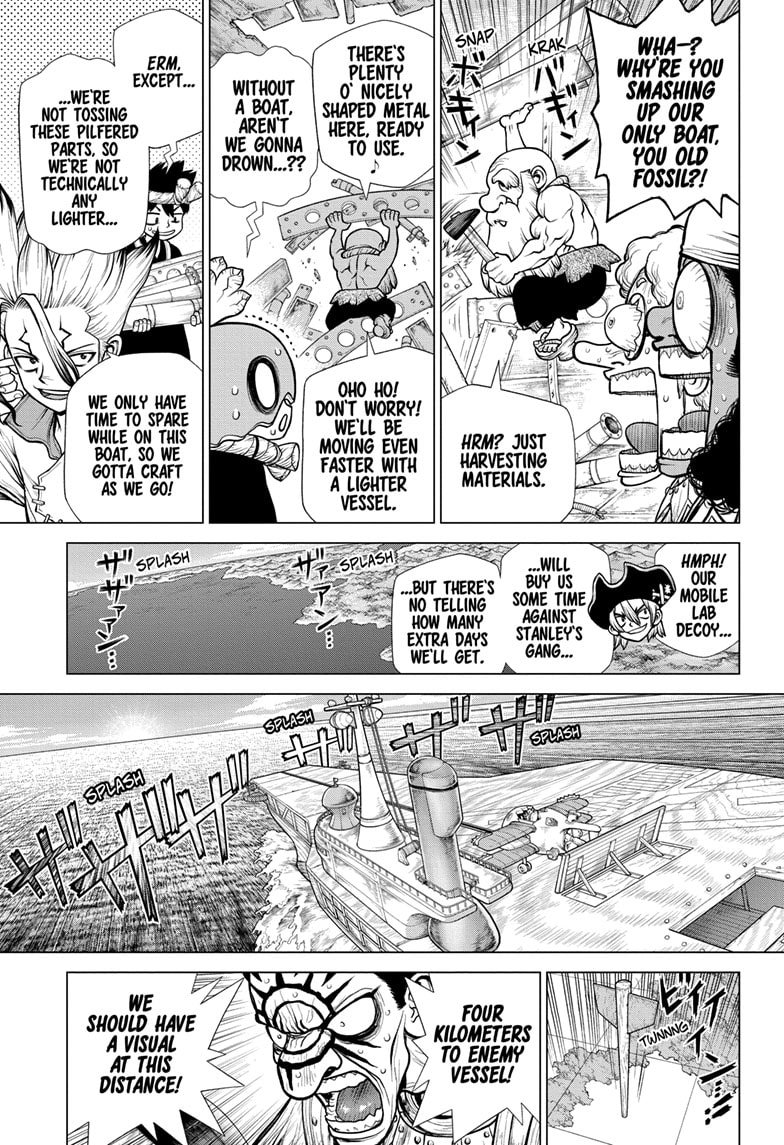 Dr. Stone, Chapter 175 image 007
