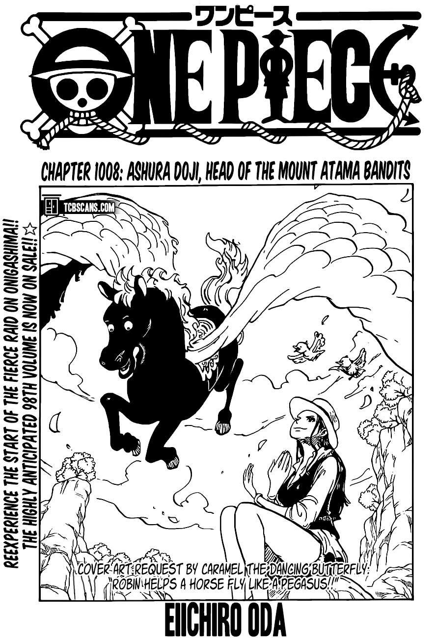 One Piece, Chapter 1008 image 001