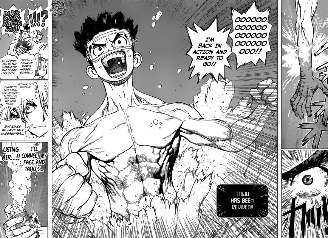 Dr. Stone : Chapter 118 - Silent Soldiers image 011