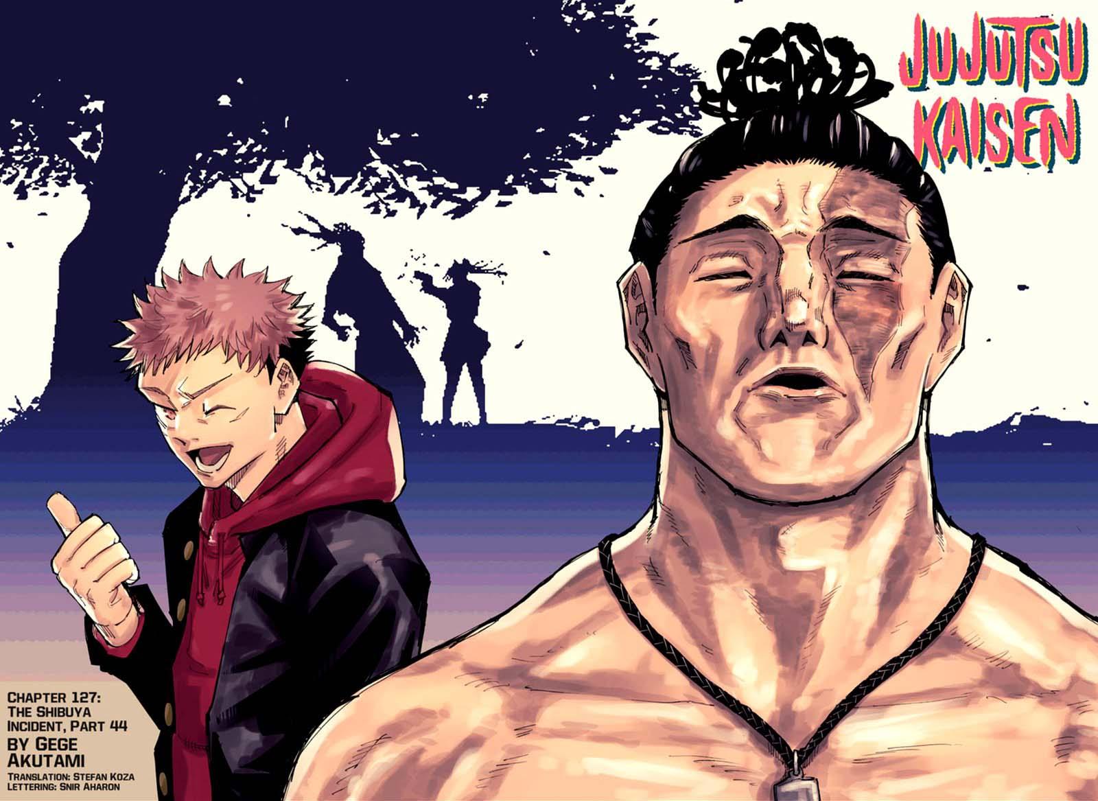 Jujutsu Kaisen, Chapter 127 image 002
