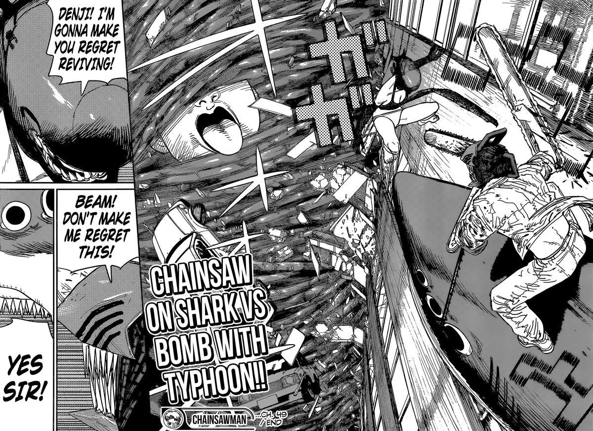 Chainsaw Man, Chapter 49 - Sharknado image 020