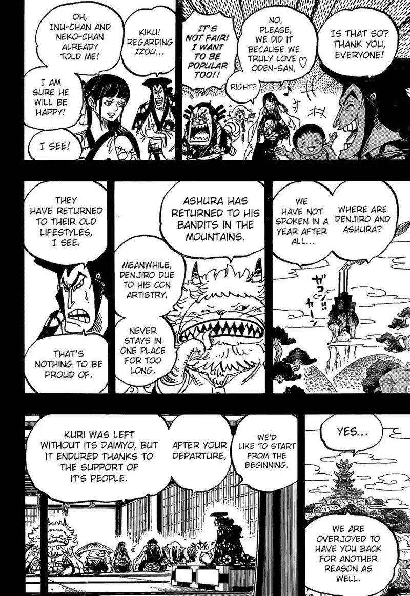 One Piece, Chapter 968 image 010
