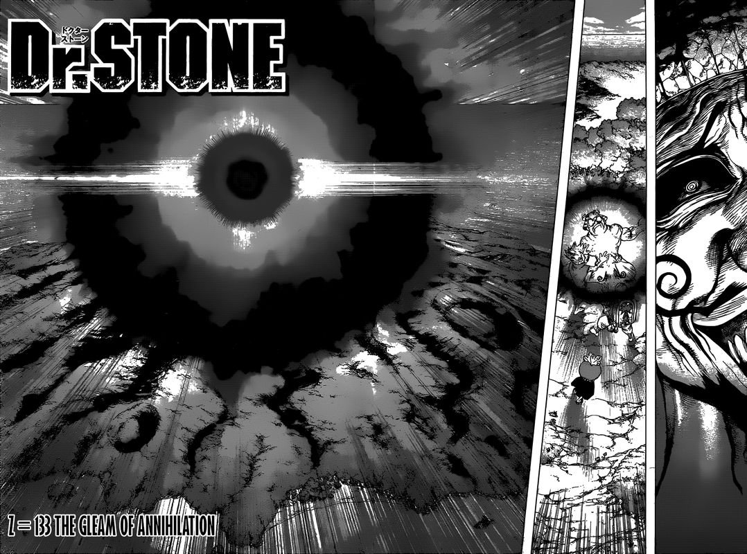Dr. Stone : Chapter 133 - The Gleam of Annihilation image 015