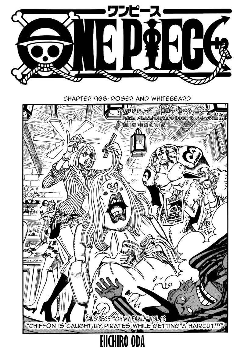 One Piece, Chapter 966 image 001