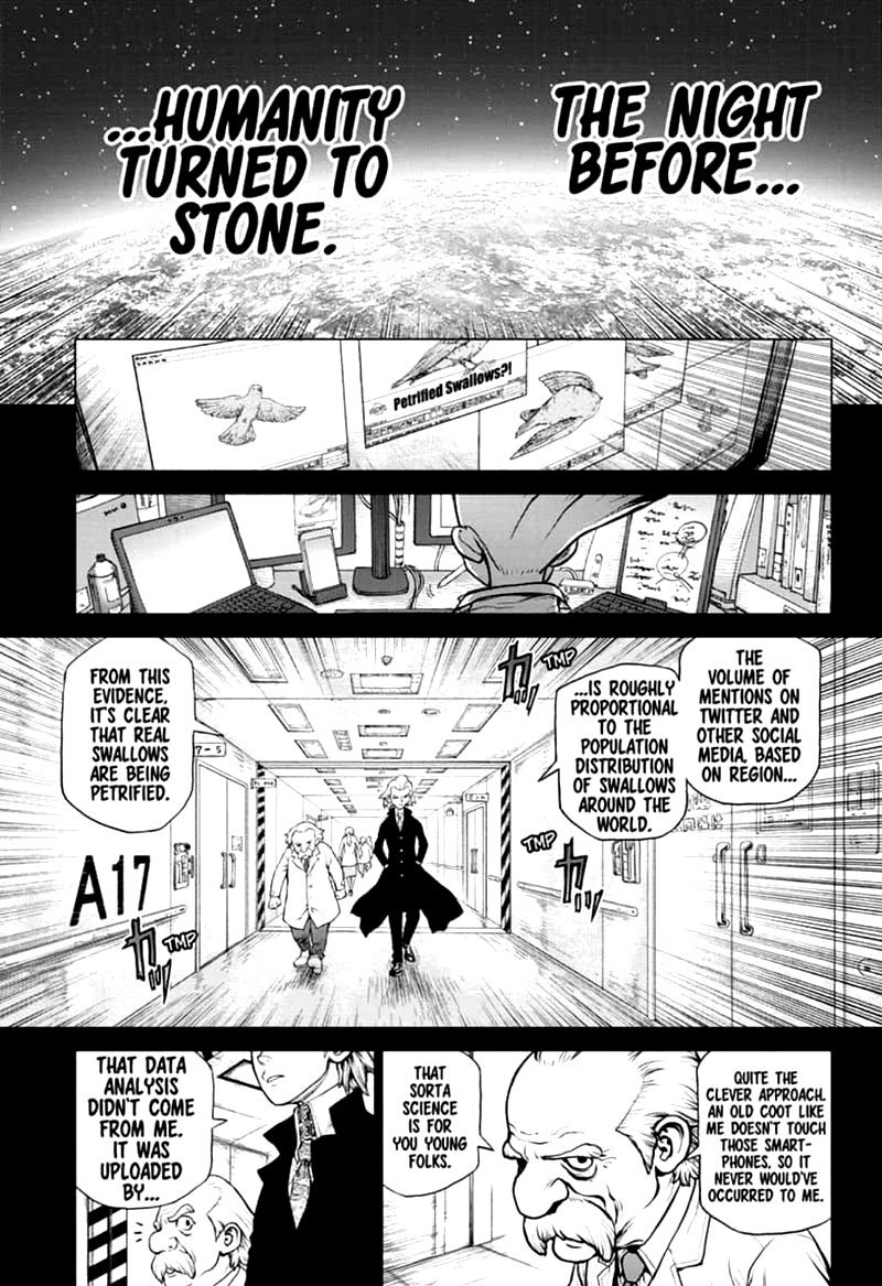 Dr. Stone : Chapter 157 - Same Time, Same Place image 001