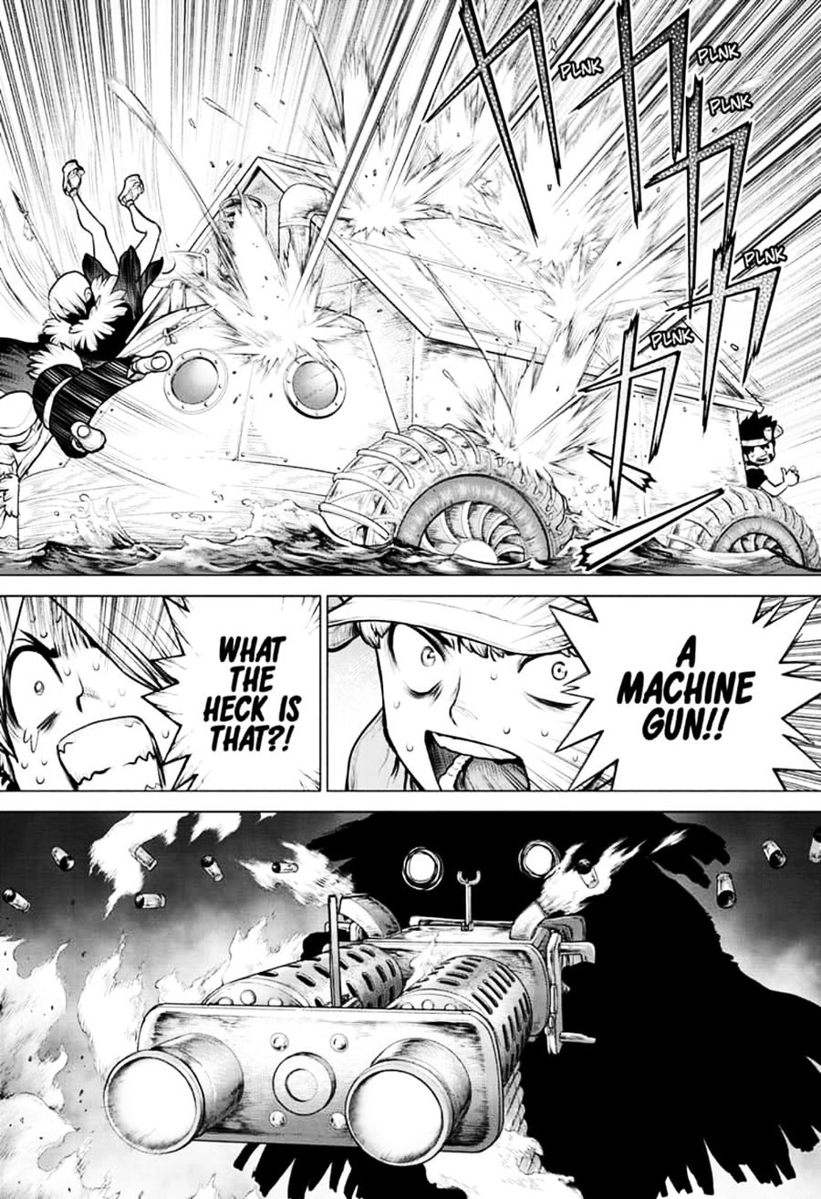 Dr. Stone : Chapter 149 - Light Lure in Darkness image 014