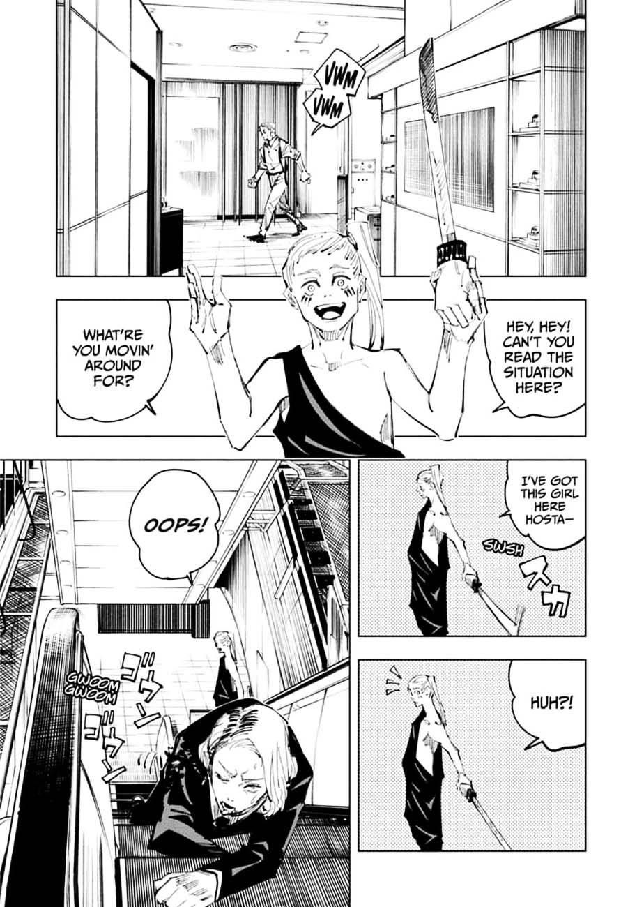 Jujutsu Kaisen, Chapter 100 image 003