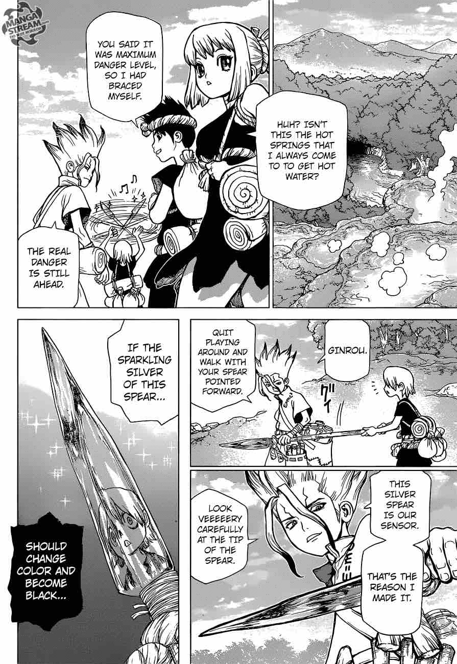 Dr. Stone : Chapter 30 - Death Green image 004