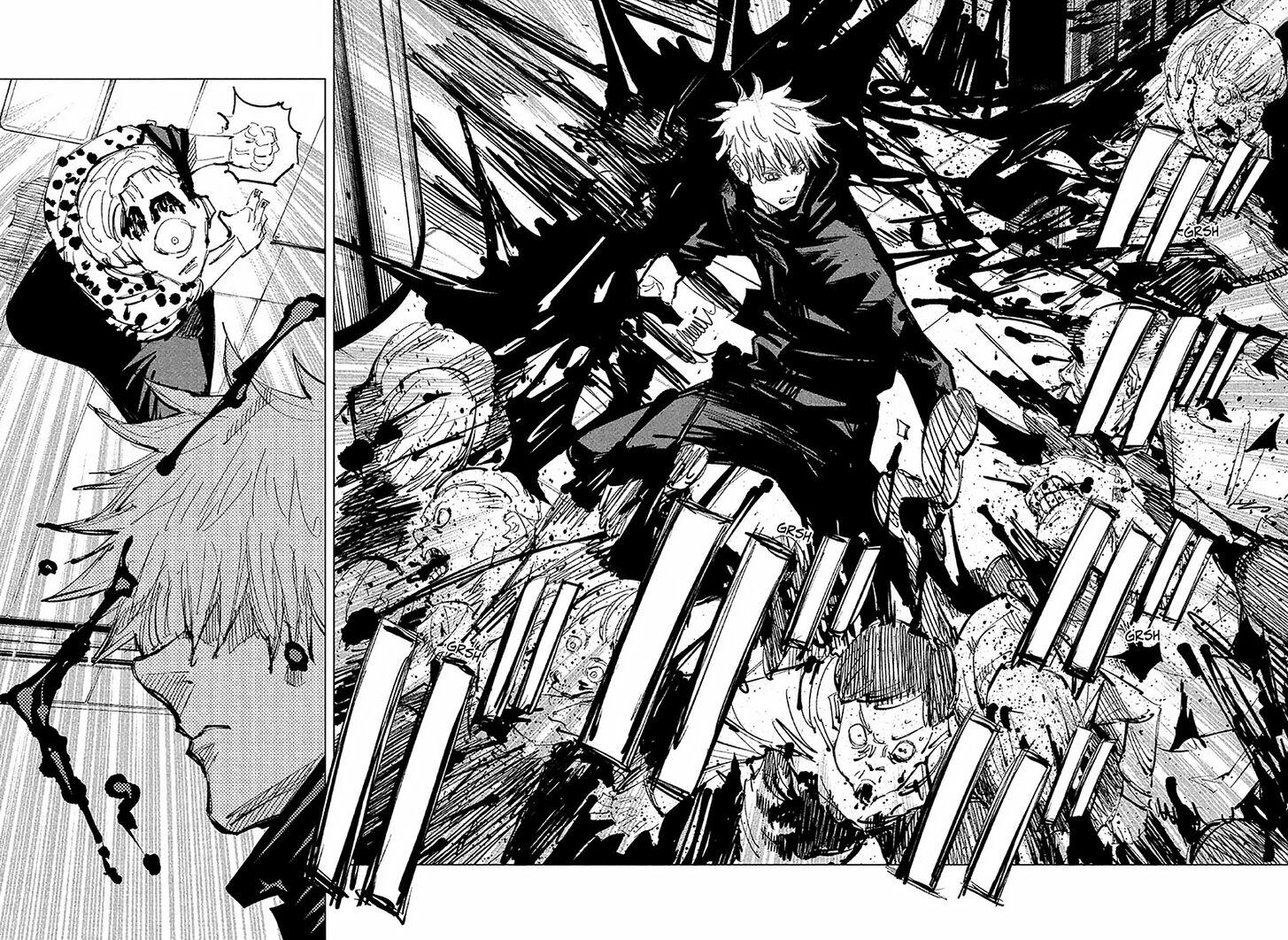 Jujutsu Kaisen, Chapter 89 image 007