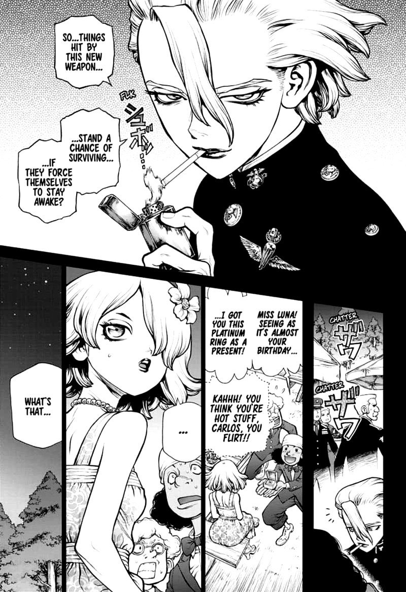Dr. Stone : Chapter 157 - Same Time, Same Place image 008