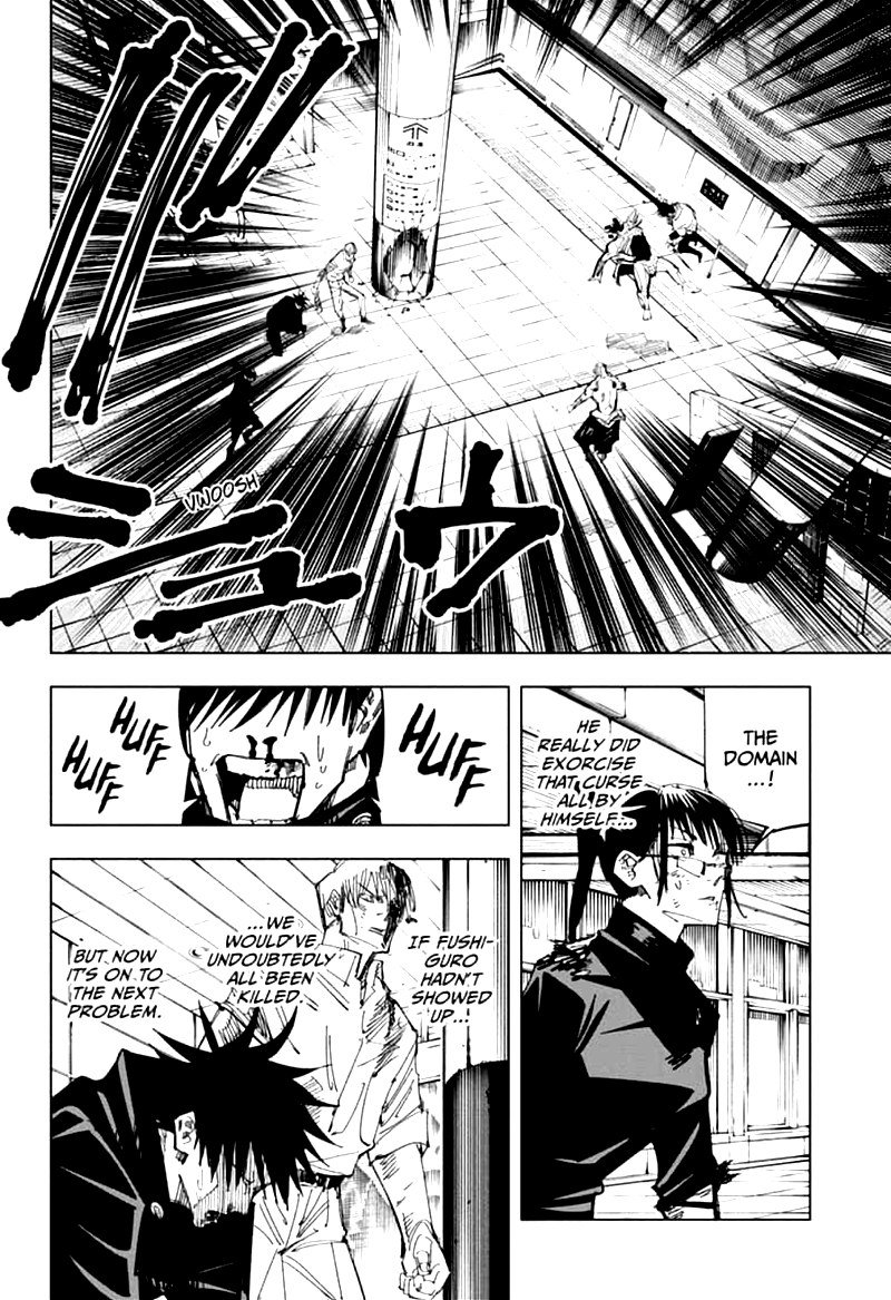 Jujutsu Kaisen, Chapter 111 image 004