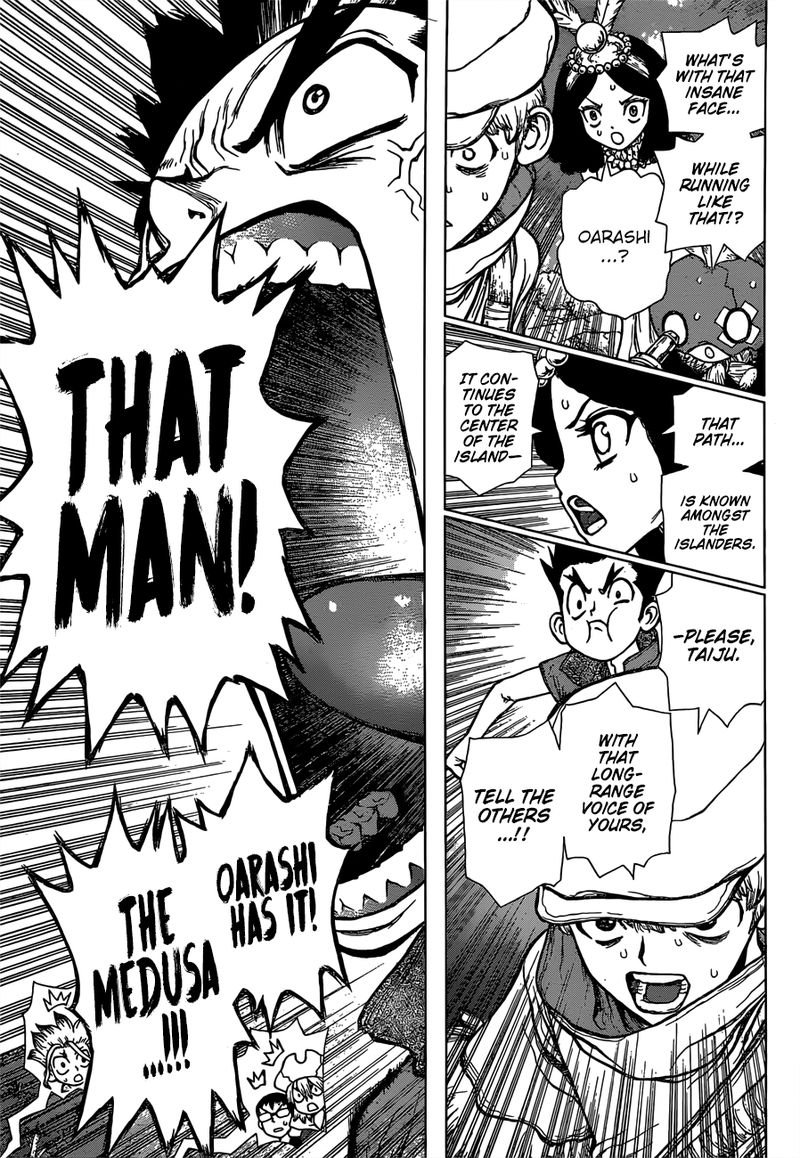 Dr. Stone : Chapter 133 - The Gleam of Annihilation image 006