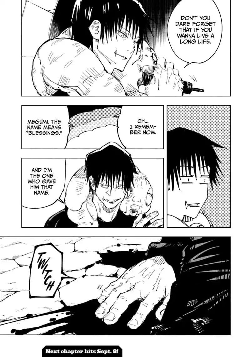 Jujutsu Kaisen, Chapter 73 image 007