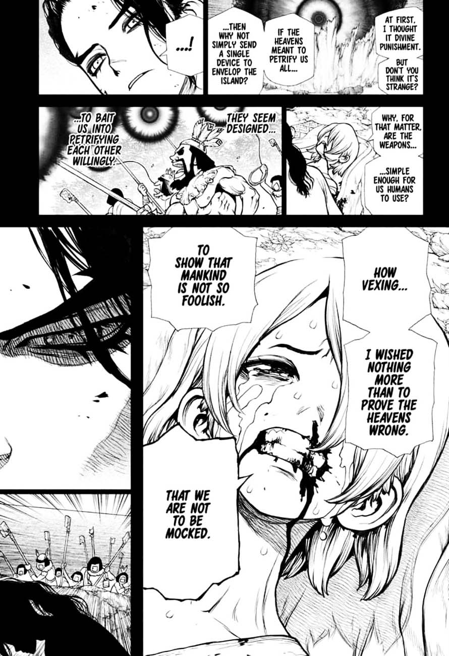 Dr. Stone : Chapter 146 - Bar Francois Bitters image 009