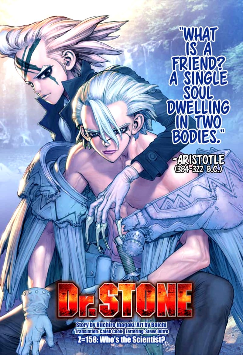Dr. Stone : Chapter 158 - Who