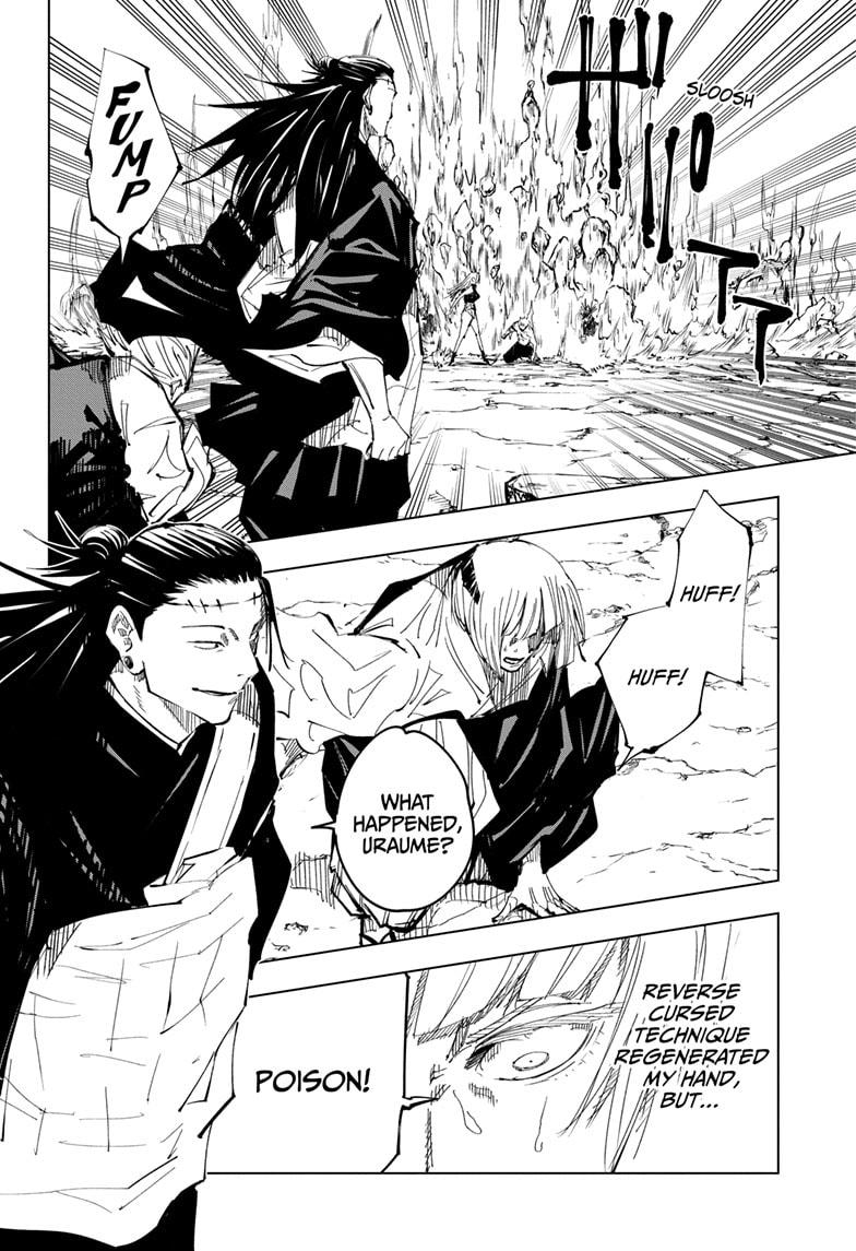 Jujutsu Kaisen, Chapter 136 image 014