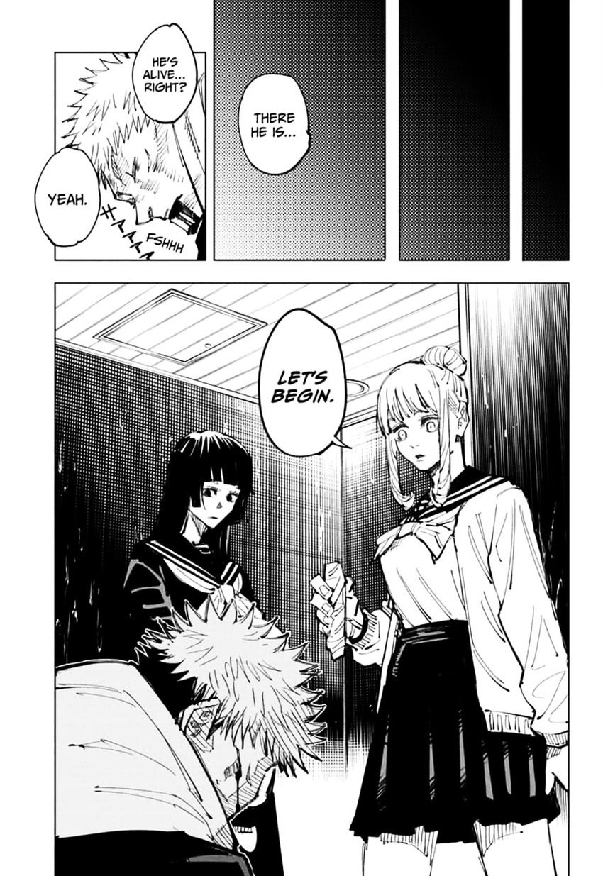 Jujutsu Kaisen, Chapter 106 image 007
