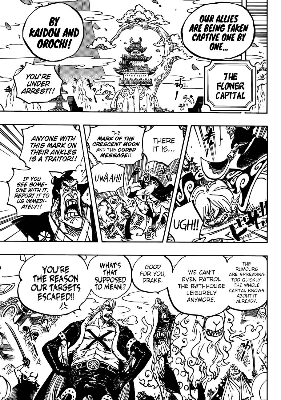 One Piece, Chapter 938 image 005