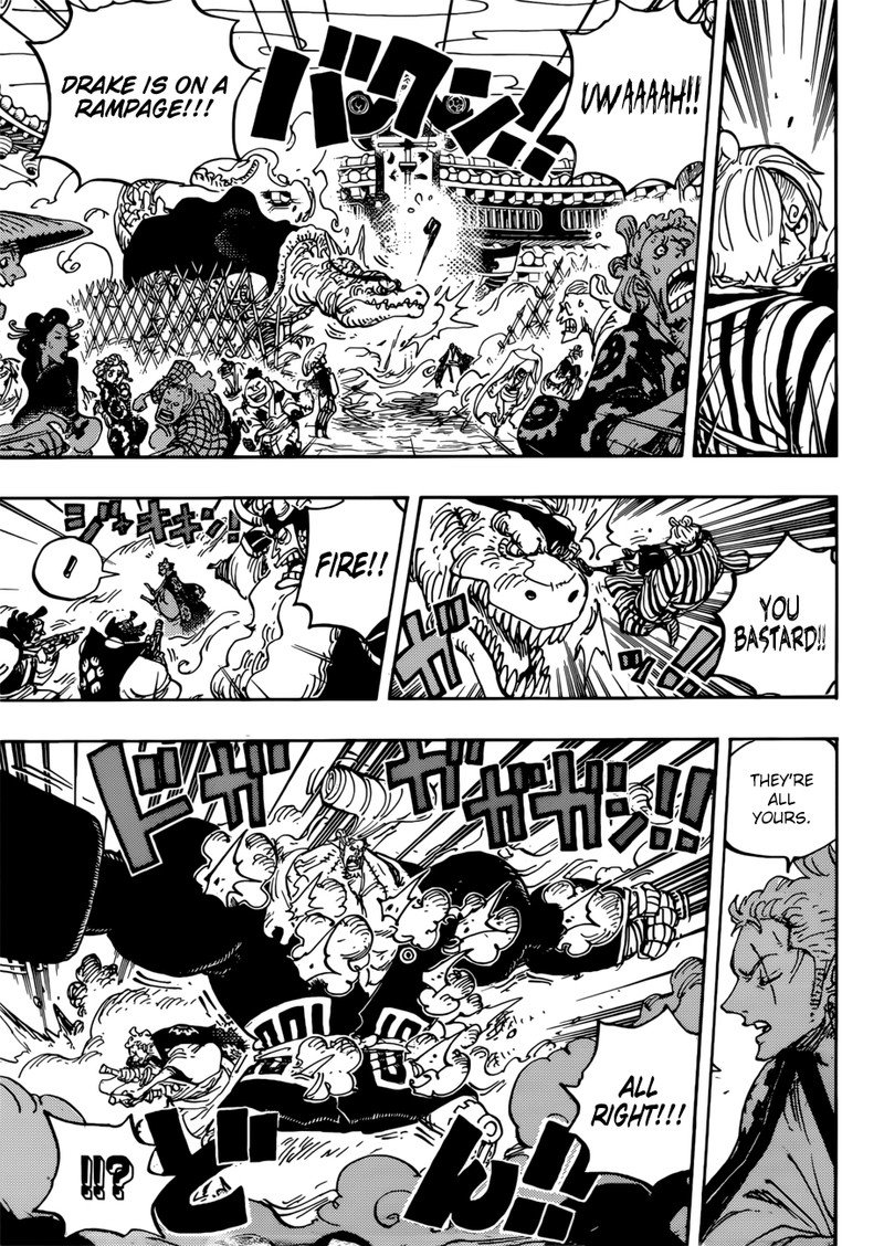 One Piece, Chapter 944 image 007