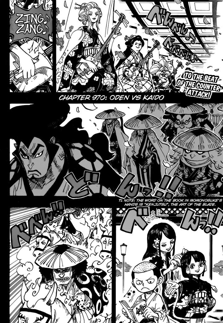 One Piece, Chapter 970 image 002