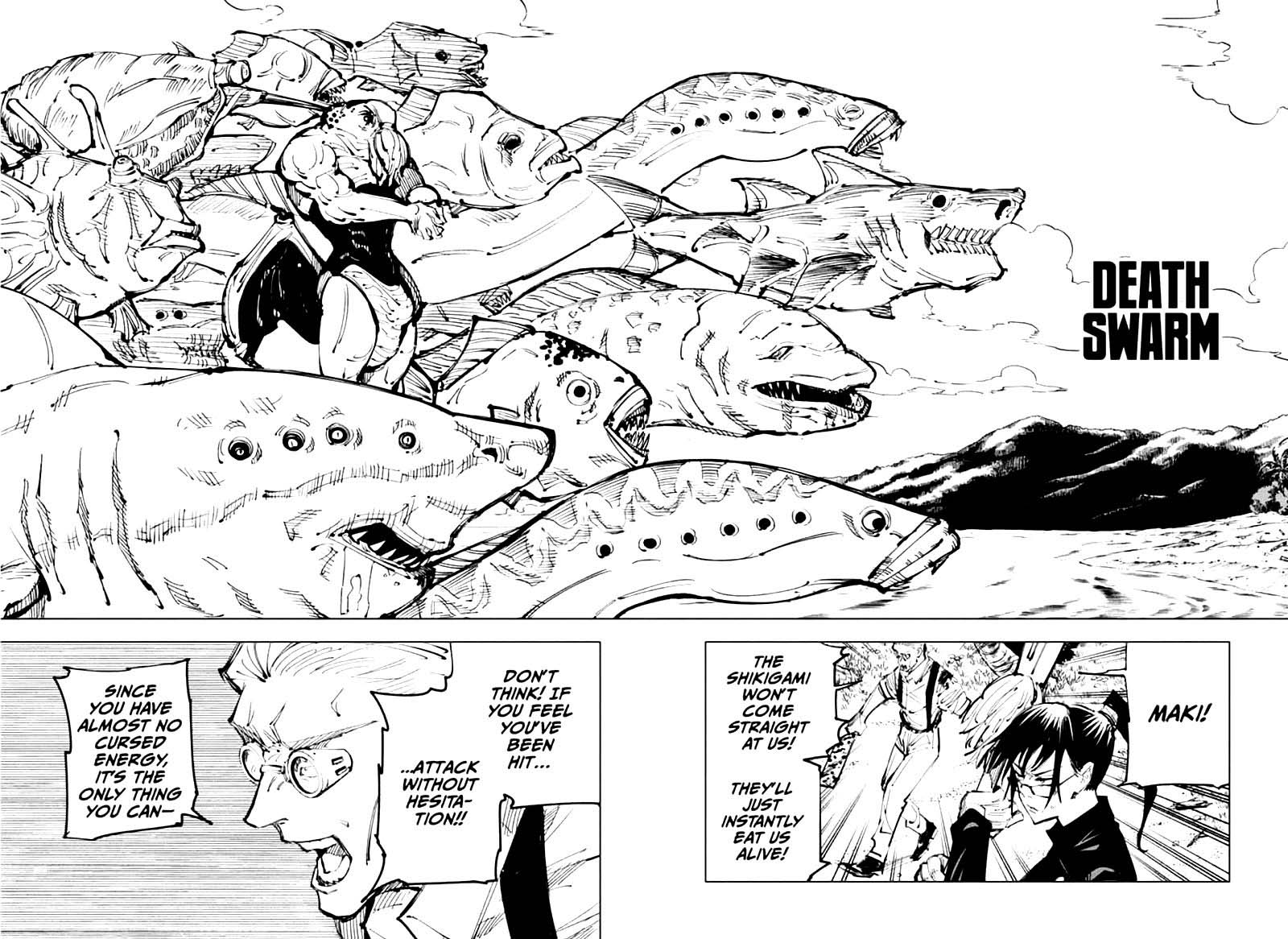 Jujutsu Kaisen, Chapter 108 image 006