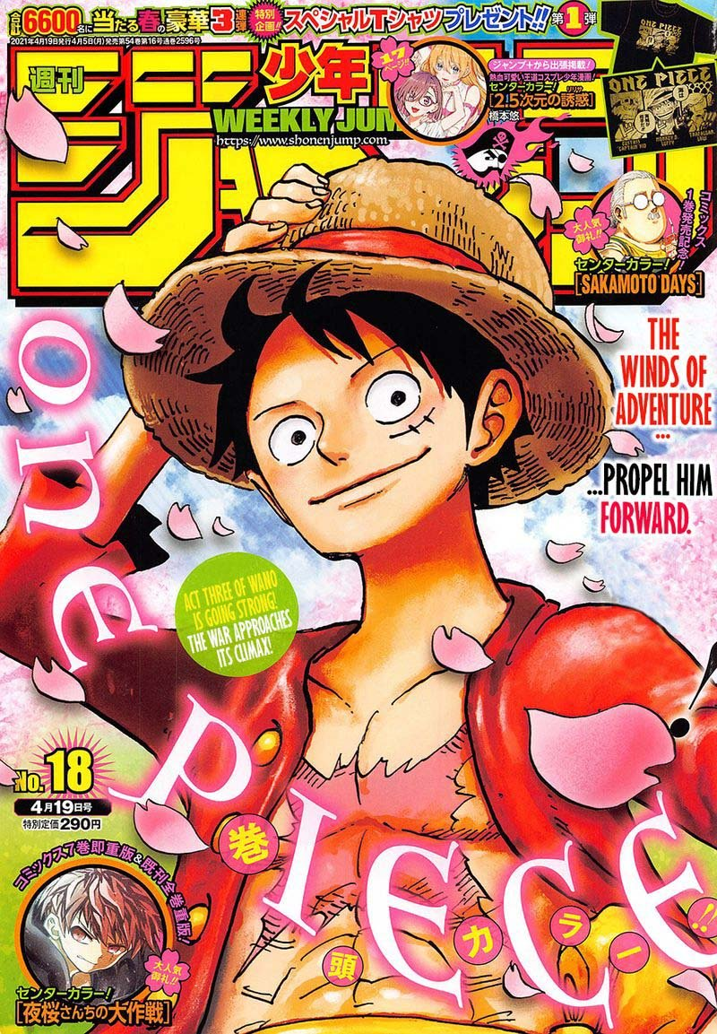One Piece, Chapter 1009 image one_piece_1009_1