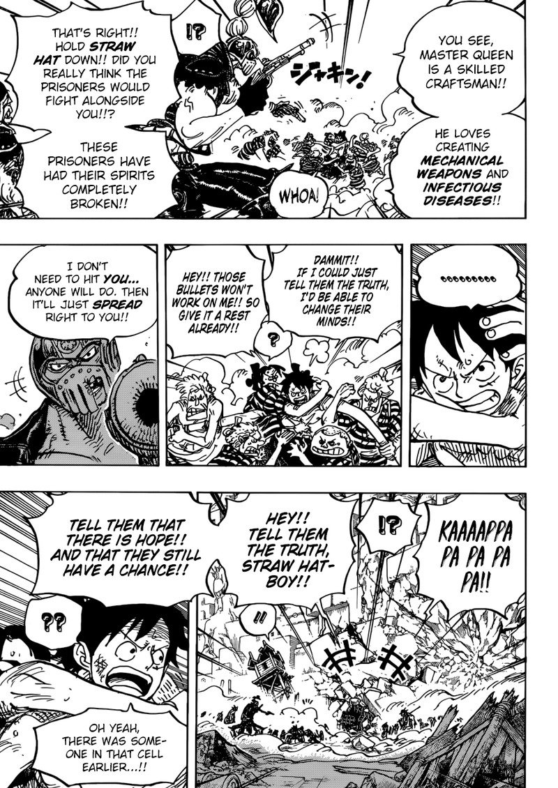 One Piece, Chapter 948 image 006