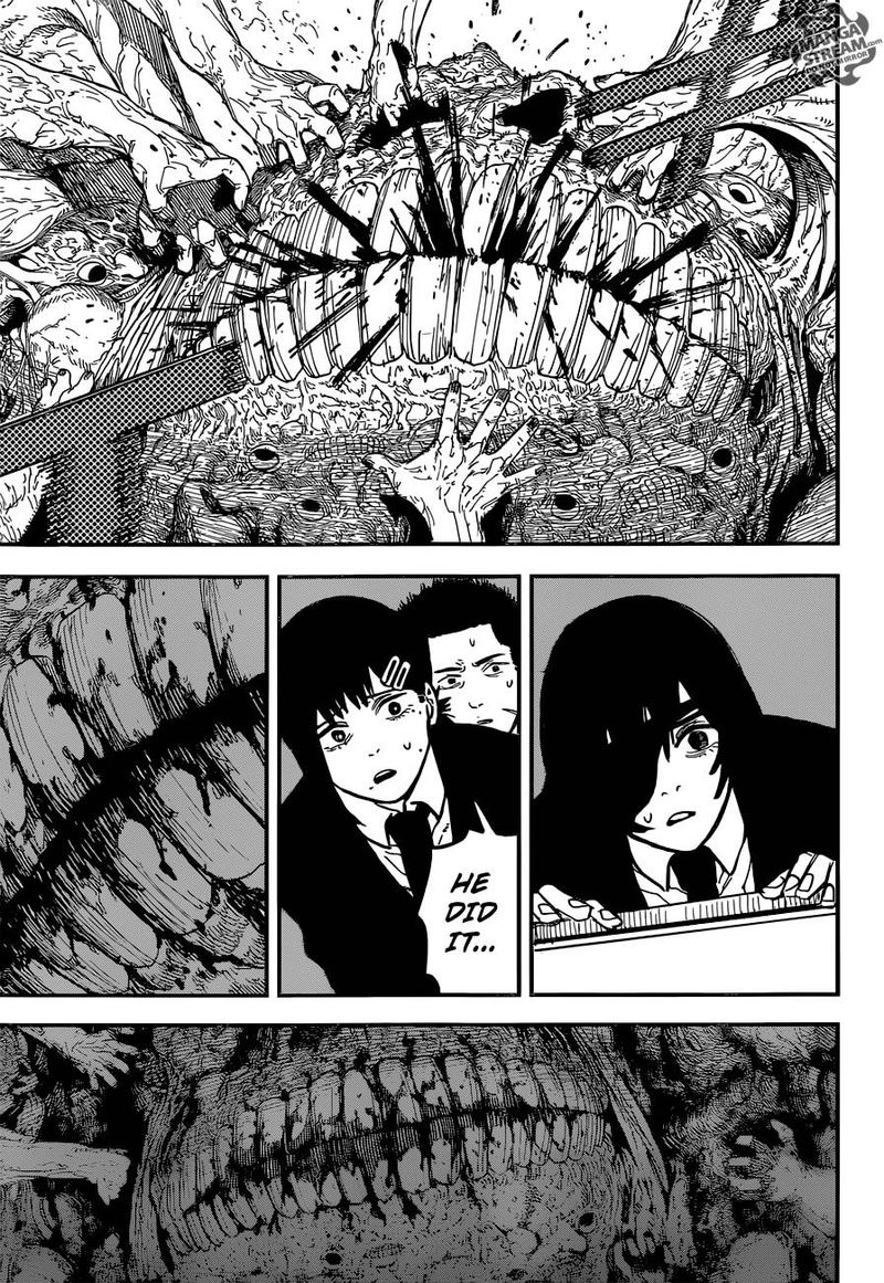 Chainsaw Man, Chapter 18 - Chainsaw VS Eternity image 013