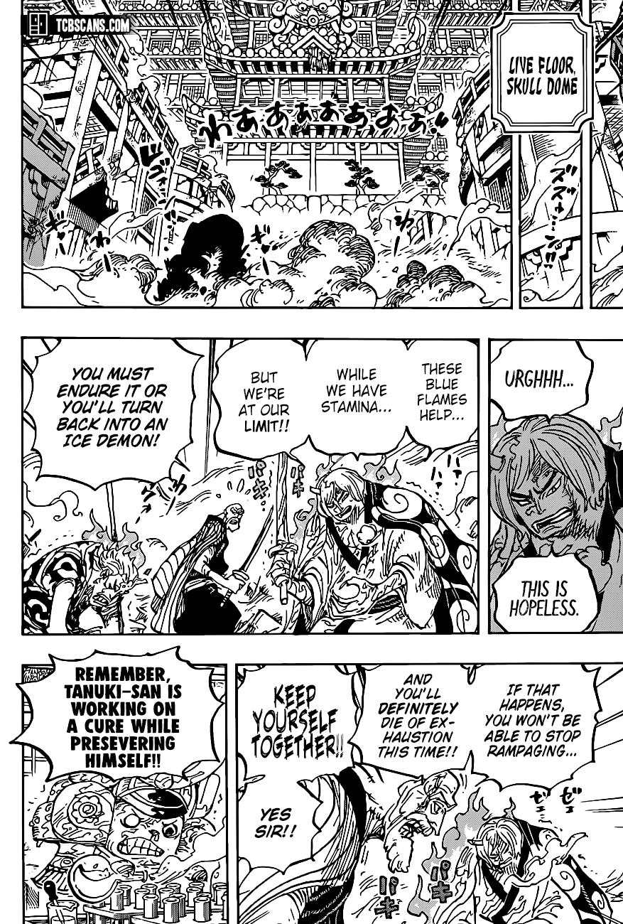 One Piece, Chapter 1006 image 009
