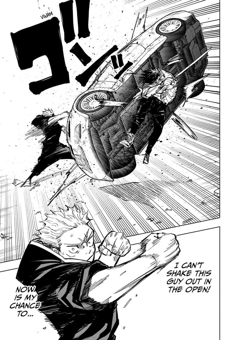 Jujutsu Kaisen, Chapter 140 image 013