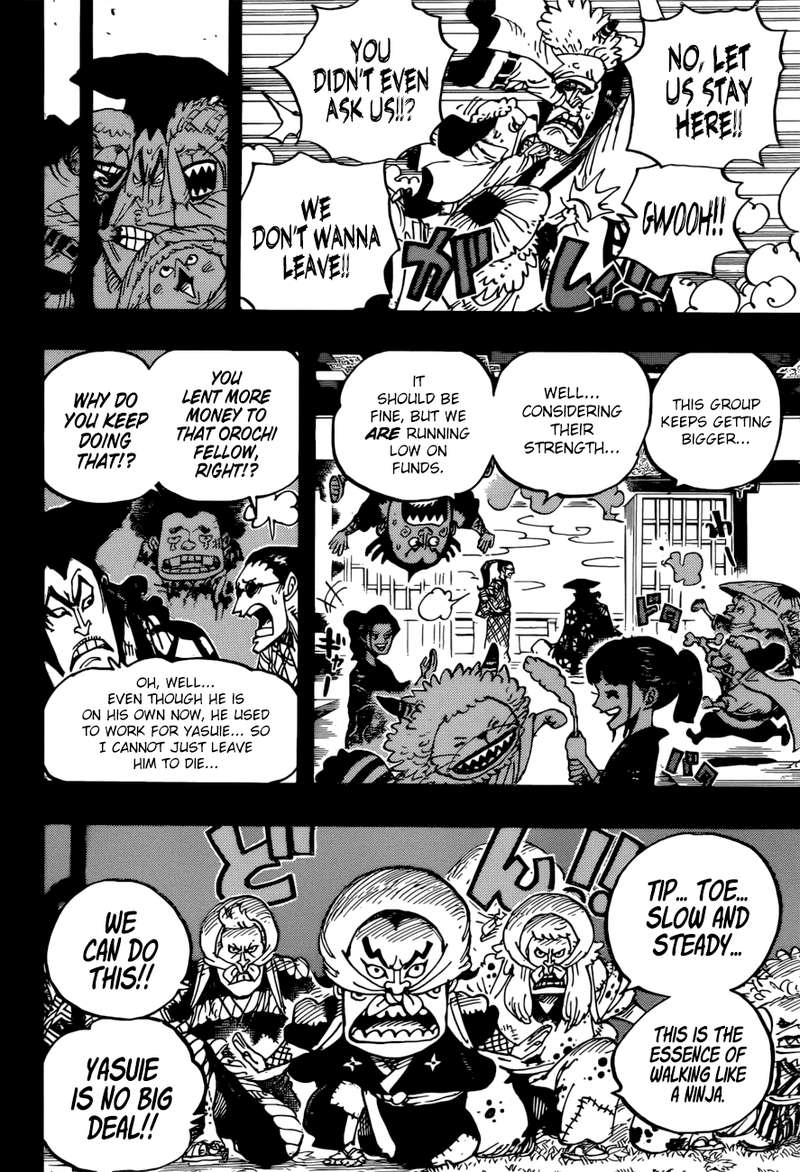 One Piece, Chapter 963 image 008