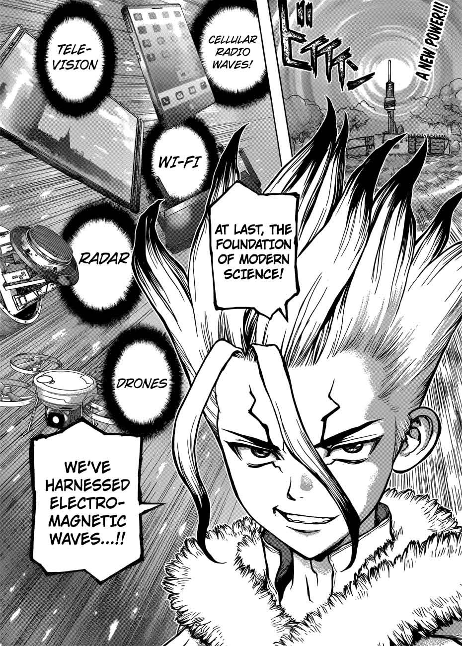 Dr. Stone : Chapter 59 - A voice sent across infinity and beyond image 002