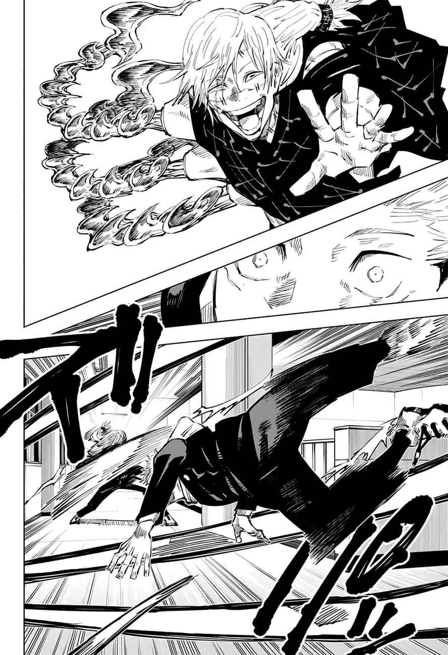 Jujutsu Kaisen, Chapter 28 image 007
