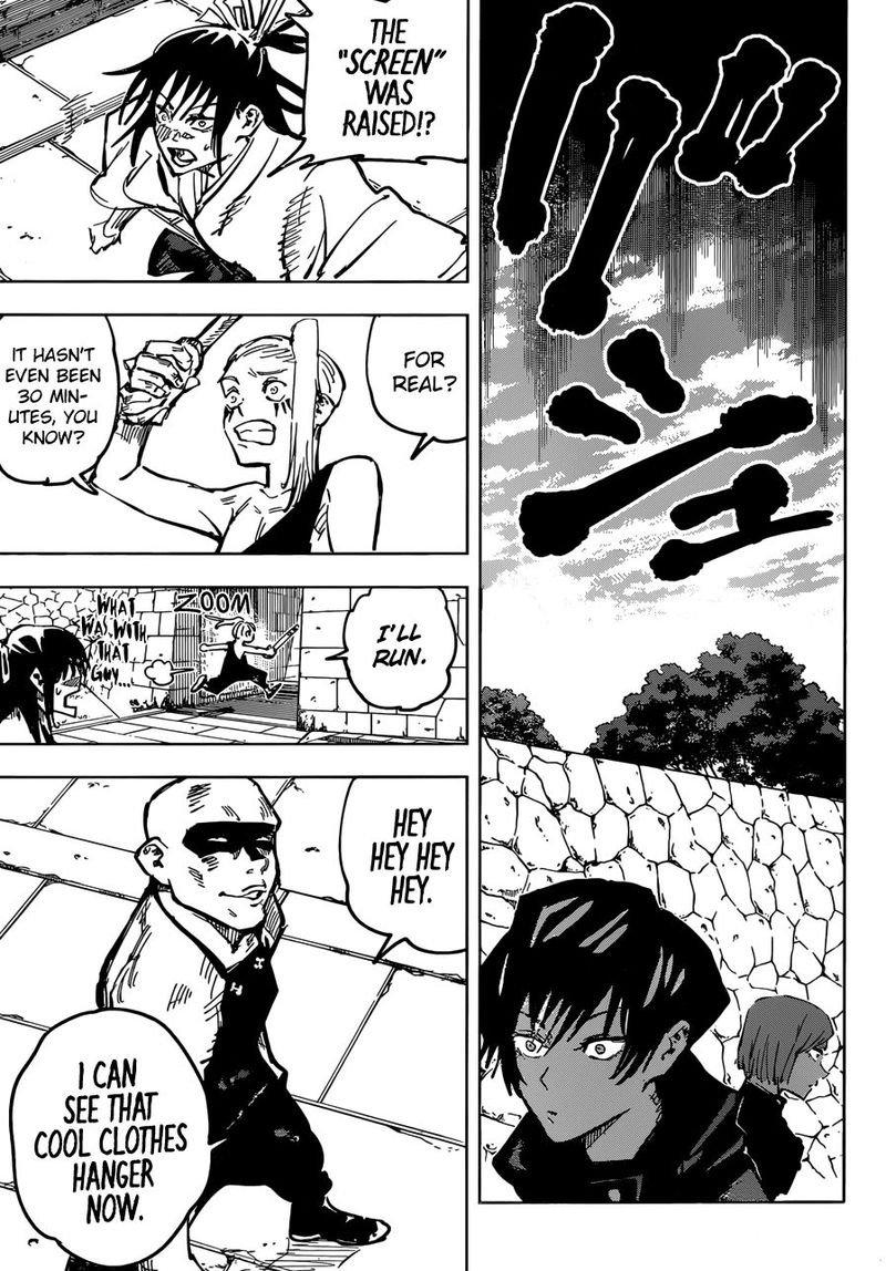 Jujutsu Kaisen, Chapter 52 image 009