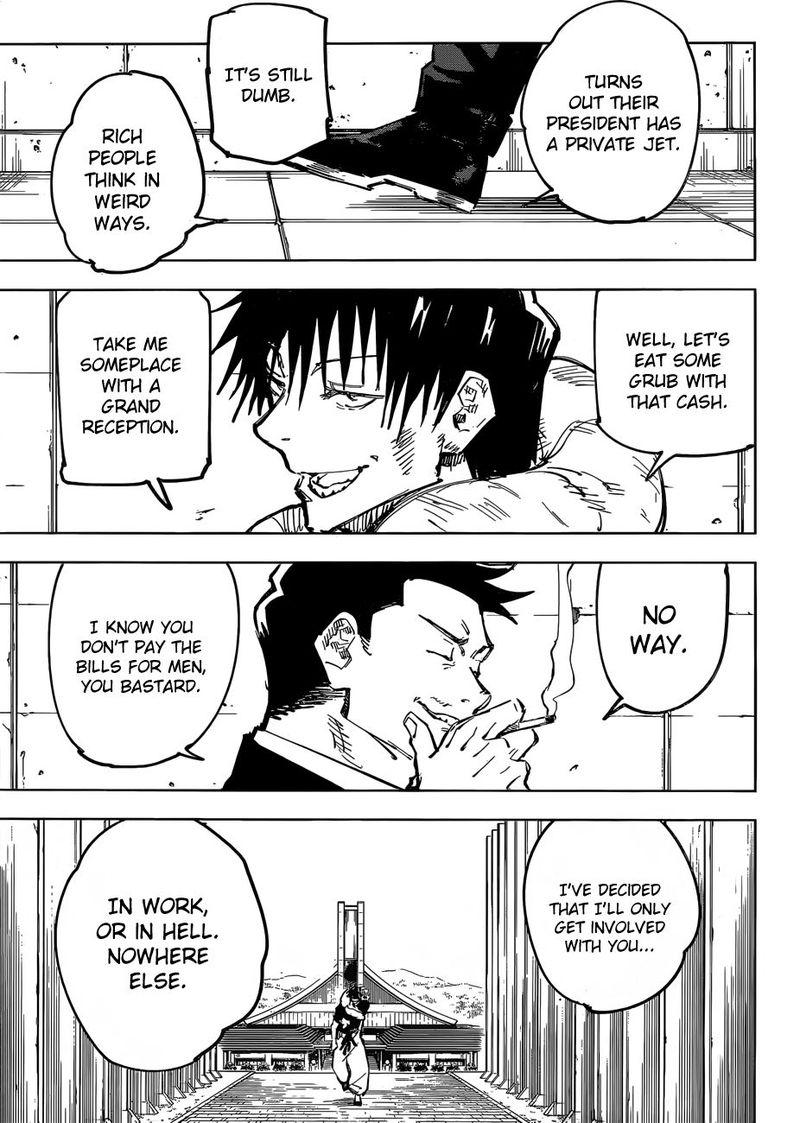 Jujutsu Kaisen, Chapter 74 image 007