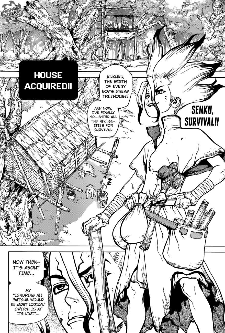 Dr. Stone : Chapter 14 - What you believe in image 002