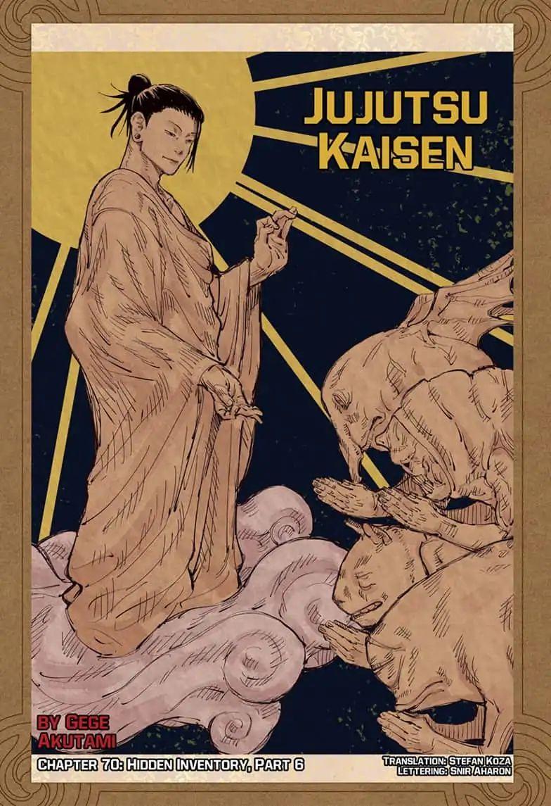 Jujutsu Kaisen, Chapter 70 image 001