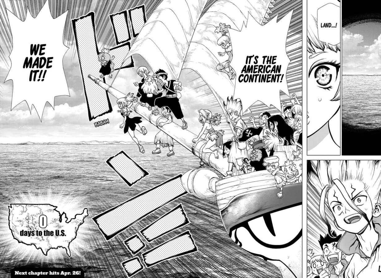 Dr. Stone : Chapter 147 - Science Journey image 019