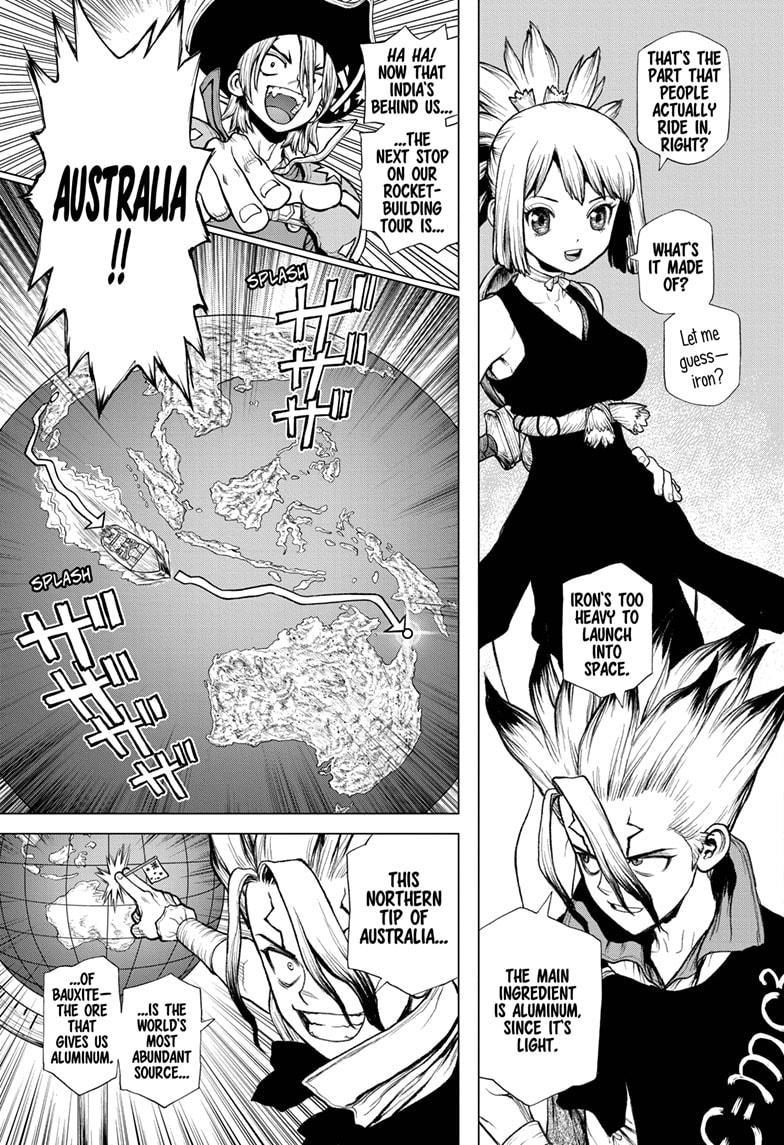Dr. Stone, Chapter 209 image 03