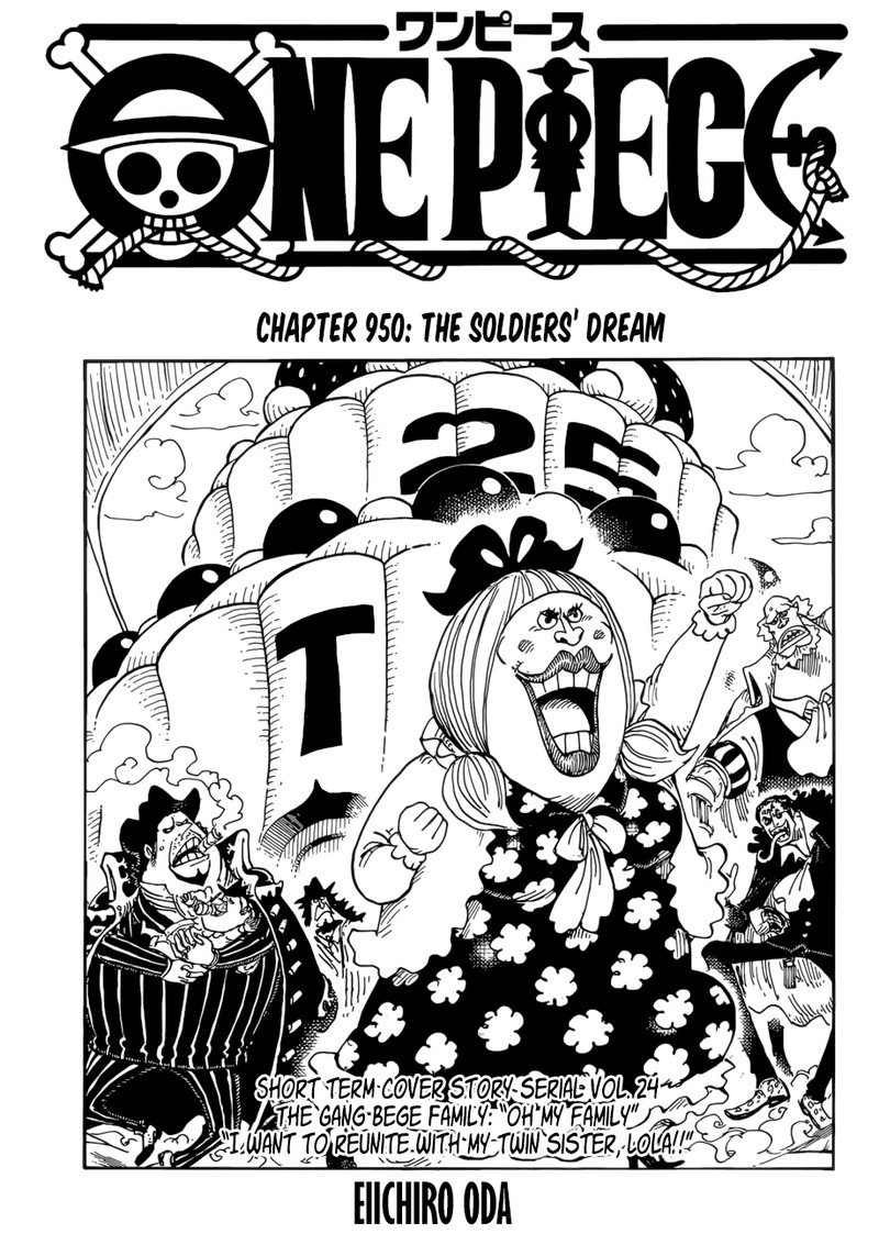 One Piece, Chapter 950 image 002