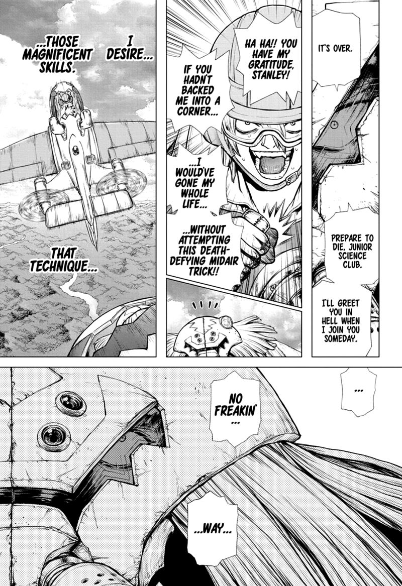 Dr. Stone : Chapter 164 - Re-Lock On image 012
