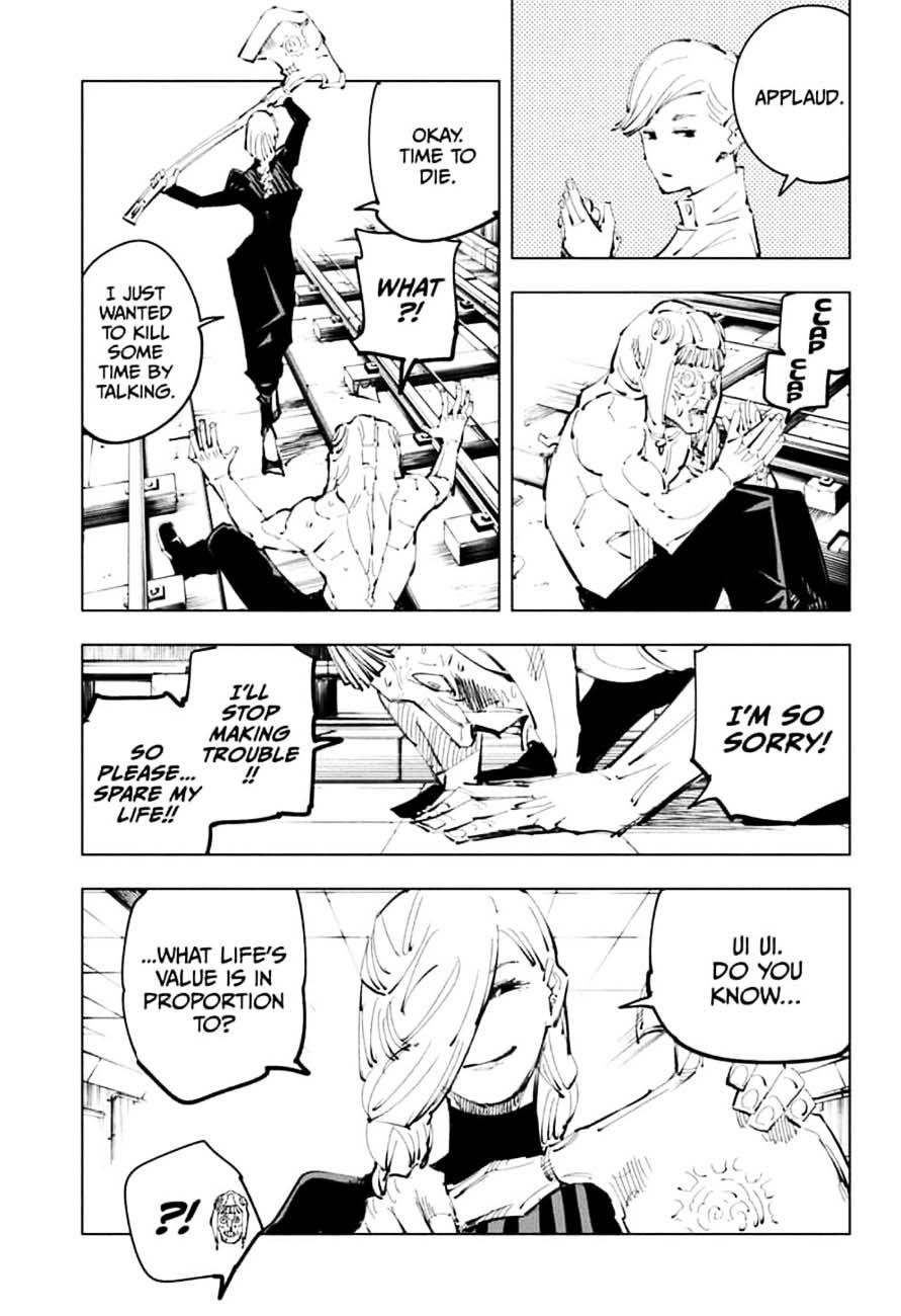 Jujutsu Kaisen, Chapter 98 image 015