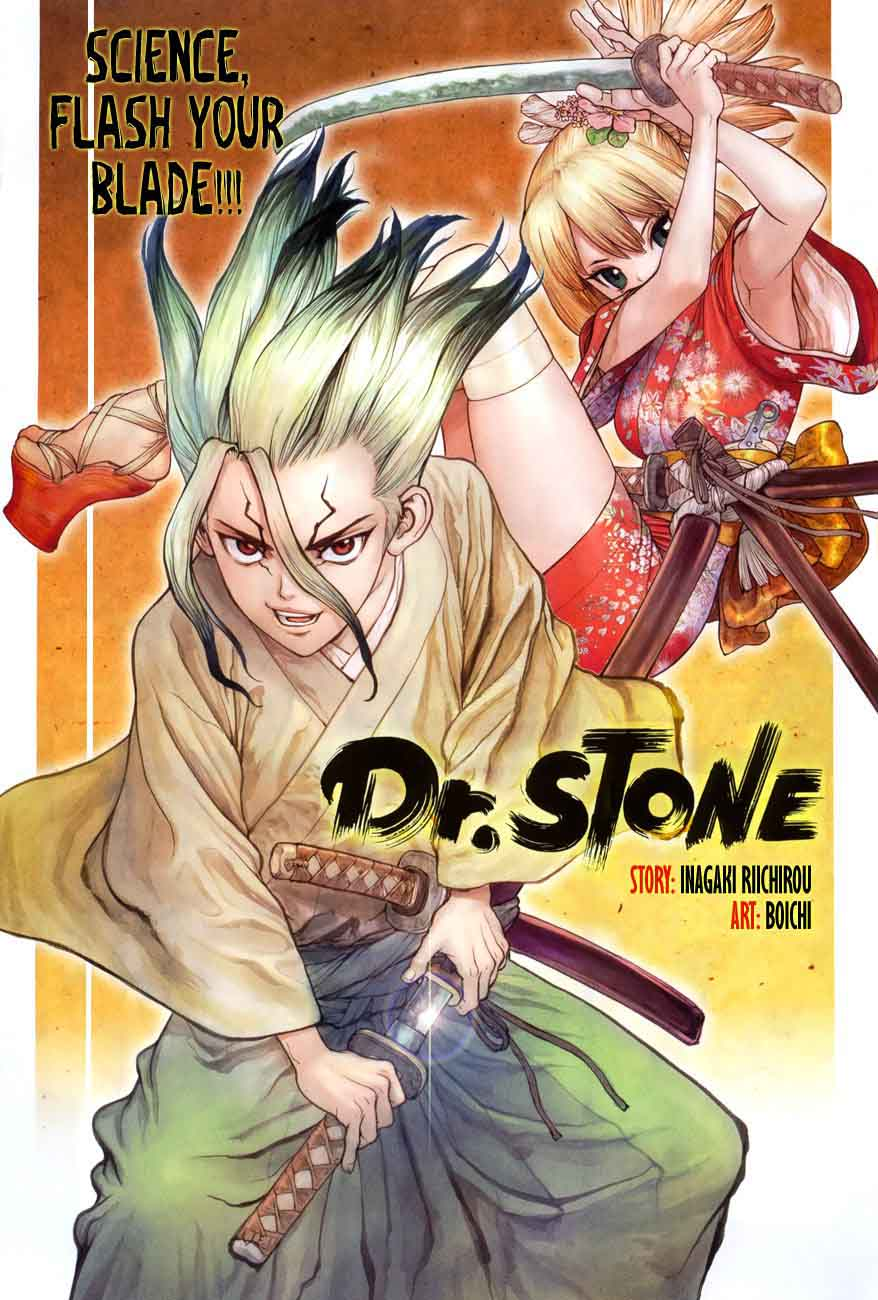 Dr. Stone : Chapter 48 - Blade of Science image 001