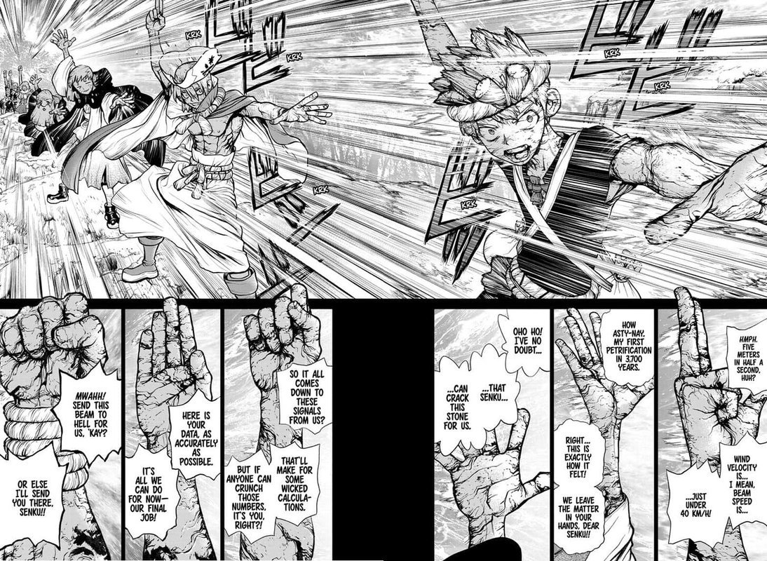 Dr. Stone : Chapter 135 - Counting image 006