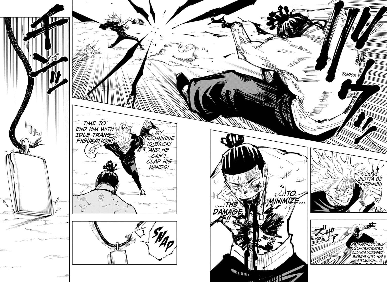 Jujutsu Kaisen, Chapter 130 image 009