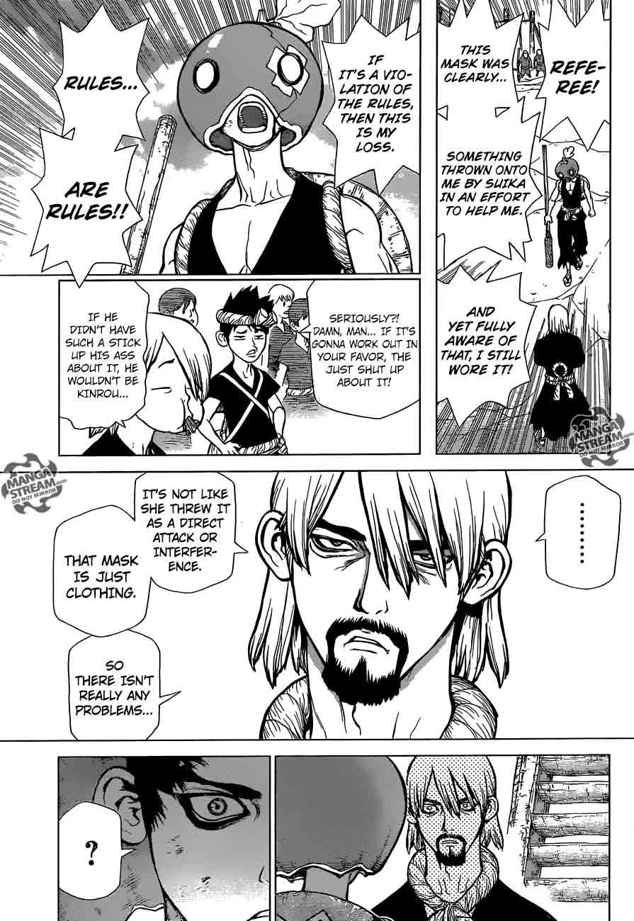 Dr. Stone : Chapter 36 - Kinrou and Ginrou image 003