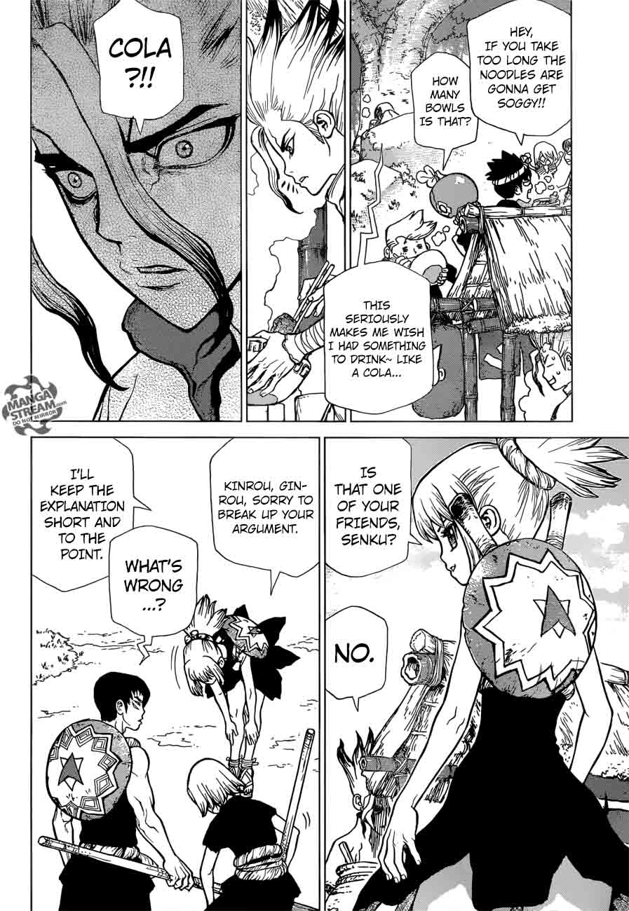 Dr. Stone : Chapter 23 - The Silver-tongued man image 005