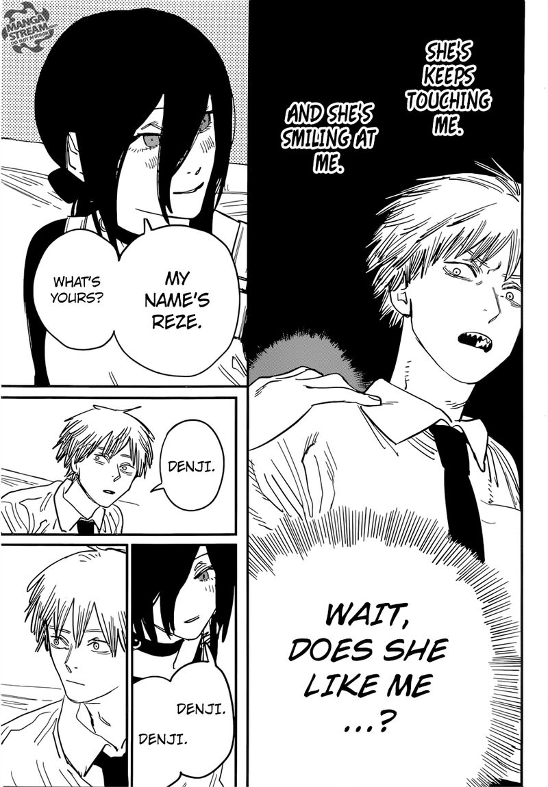 Chainsaw Man, Chapter 40 - Love, Flower, Chainsaw image 017
